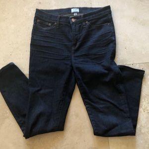 JCrew Lookout High Rise Skinny Jeans